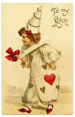 Symbols, Meanings, and Old Valentine's Cards that define Valentine's Day #vintagevalentine