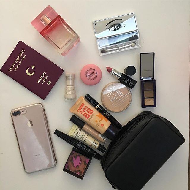 Todays makeup bag