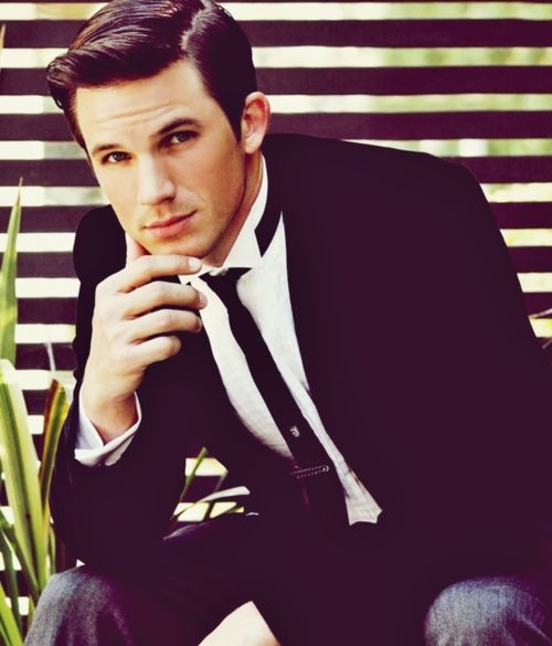 "Matt Lanter is contemplating just how good looking he is. The answer he came up with is ""Really, really ridiculously good looking"" and he would be correct."