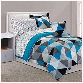 View Dan River Twin Stark 6 Piece Bed In A Bag Comforter Set Deals At Lots Lauren S Room Ideas Pinterest Comforters Sets And