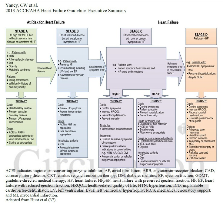2013 ACCF-AHA Guideline for the Management of Heart Failure