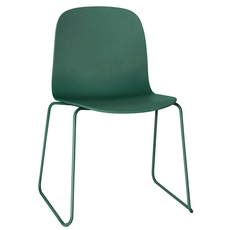 Visu stol stålben, grønn i gruppen Møbler / Stoler / Stoler hos ROOM21.no (123328)