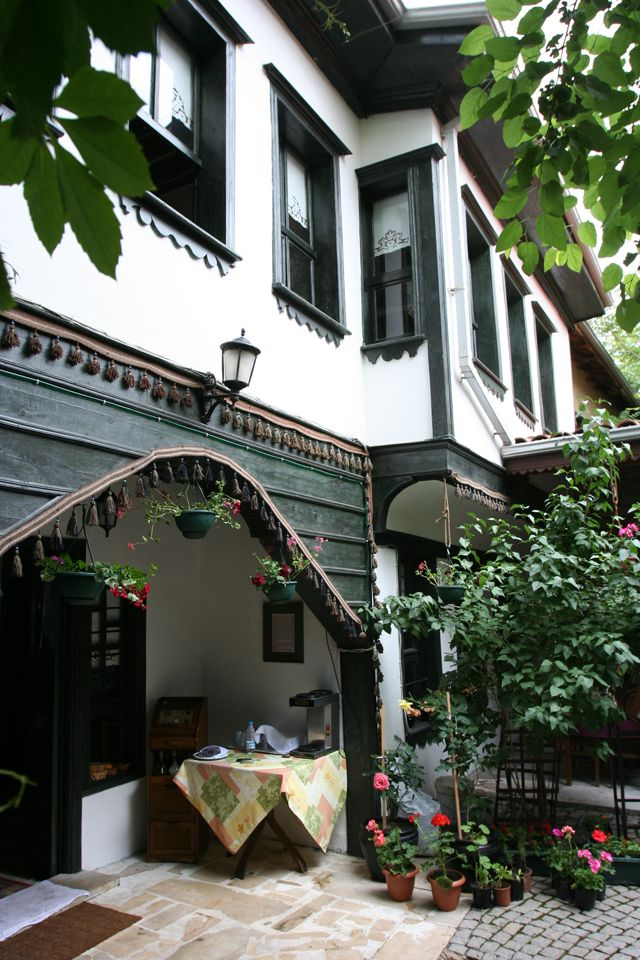 Old Turkish houses  / Odunpazari ,Eskisehir ,Turkey