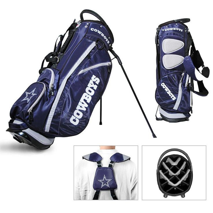 Dallas Cowboys NFL Stand Bag - 14 way Fairway