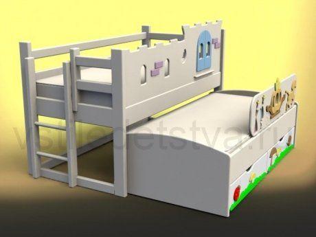 Детская кровать чердак Королевская