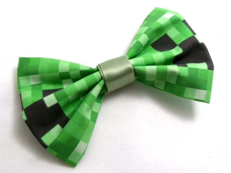 Video Game Bow Ties - I'd like to adapt these into hair clips.  Cute!