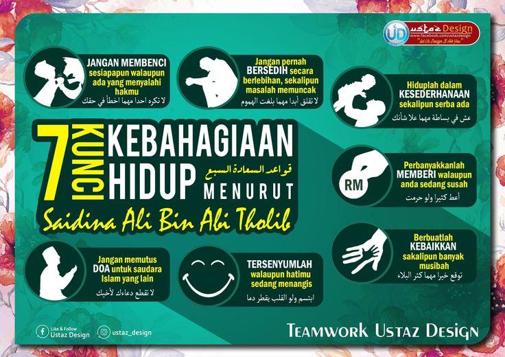 7 kunci kebahagiaan hidup comic book cover islamic