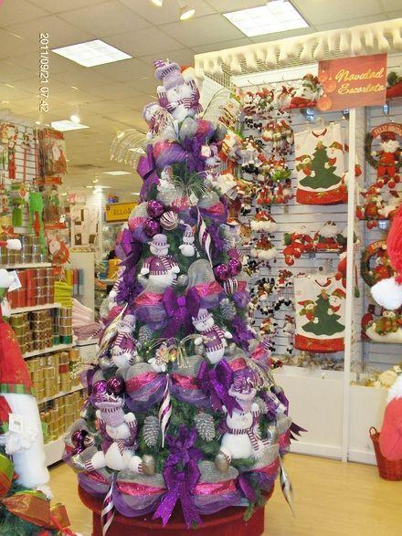 14 mejores im genes de arbol navidad en pinterest - Comprar arboles de navidad decorados ...