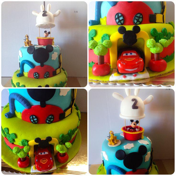 Mickey & Faisca cake