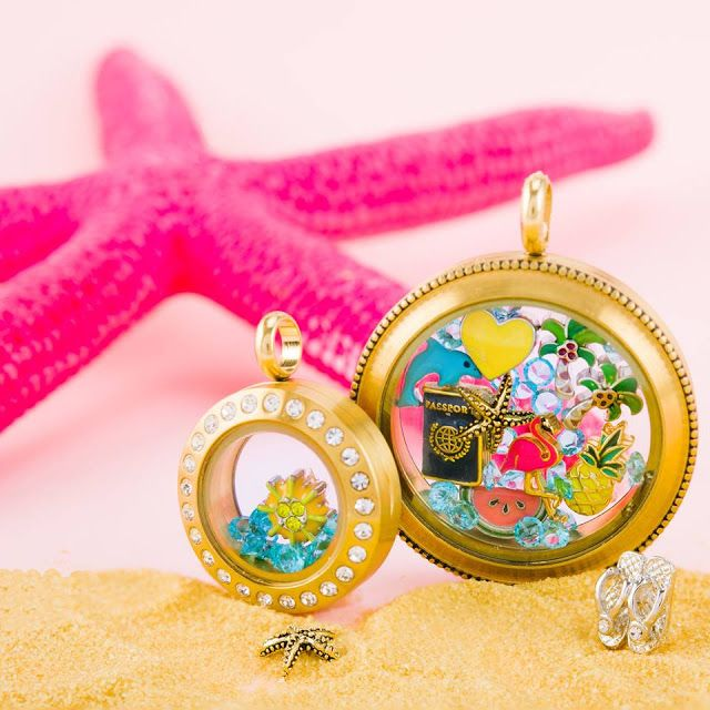 Come create an Origami Owl Living Locket that shows off your summer vacation or our travels! StoriedCharms.com