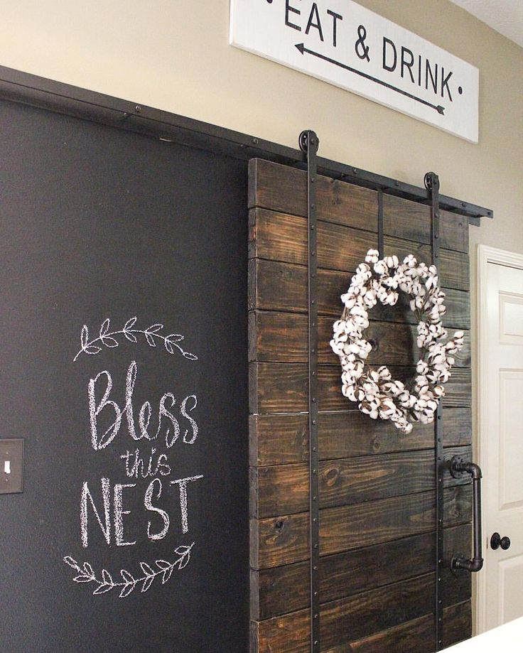See this Instagram photo by @homedecormomma • 156 likes #chalkboard wall #diy…