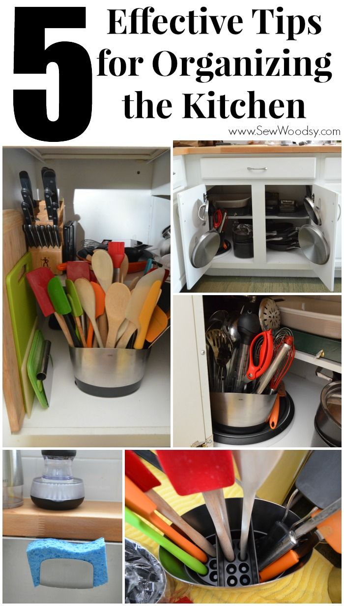 5 Effective Tips For Organizing The Kitchen Best Of