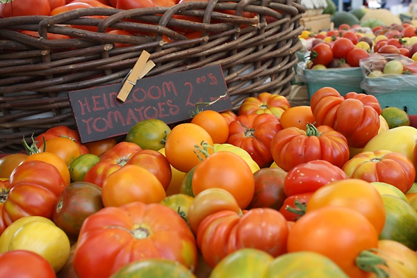 We love the Saturday Penticton Farmers Market. BC heirloom tomatoes are amazing.