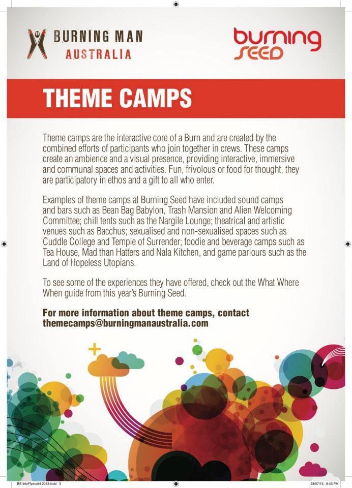 Theme Camps