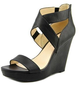 Jessica Simpson Jamilee Women Open Toe Synthetic Wedge Heel.