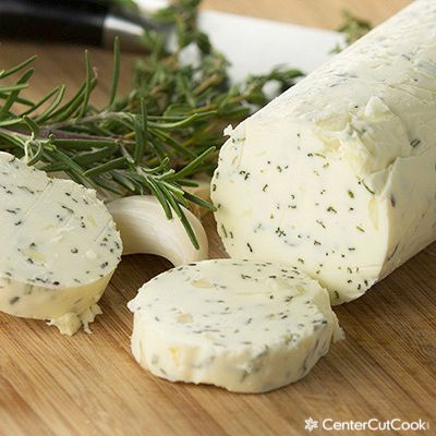 An easy compound butter recipe with garlic and herbs that is perfect for steak, corn, chicken, turkey, or for bread! This is my secret to making the most delicious recipes that everyone raves about!