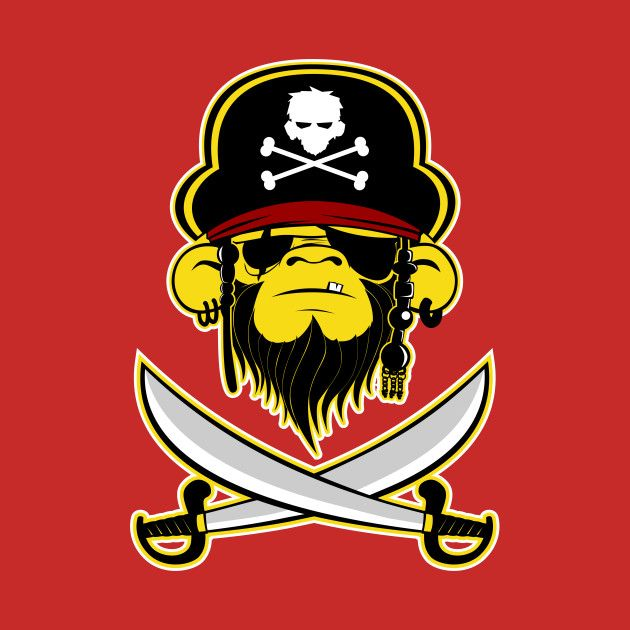 Check out this awesome 'Pirate+of+The+Monkeybean' design on @TeePublic!