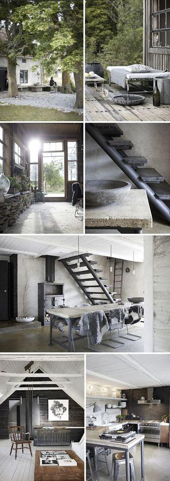 Sommarhus med modern inredning och design Stellan Herner