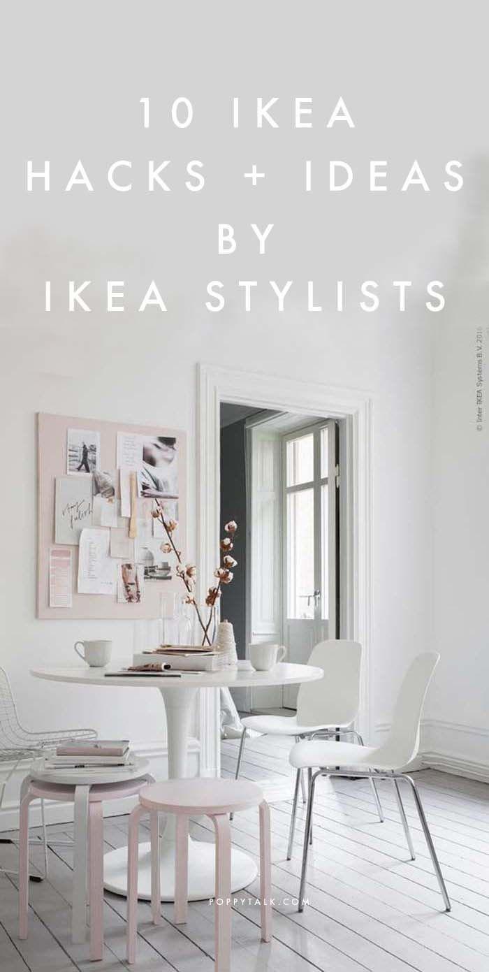 Poppytalk: 10 Gorgeous IKEA Hacks + Ideas by IKEA Stylists (January 2016)