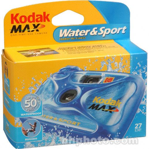 Kodak Water & Sport One-Time-Use Disposable Camera 8004707