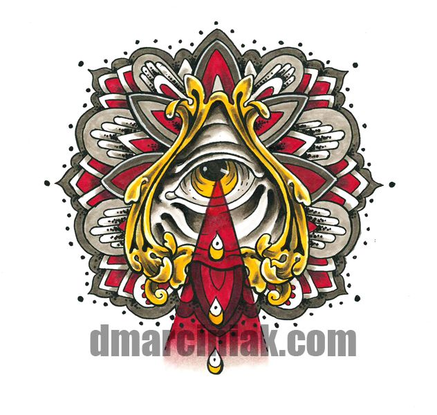 35 best all seeing eye tattoo images on pinterest tattoo for Sacred art tattoo corvallis