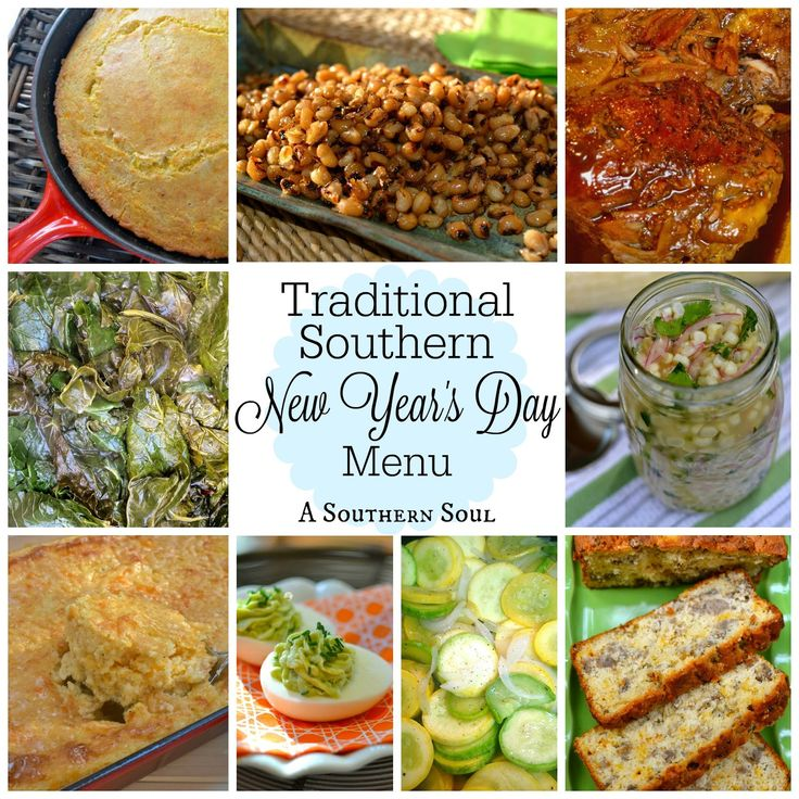 A Southern Soul | New Year's Day Menu