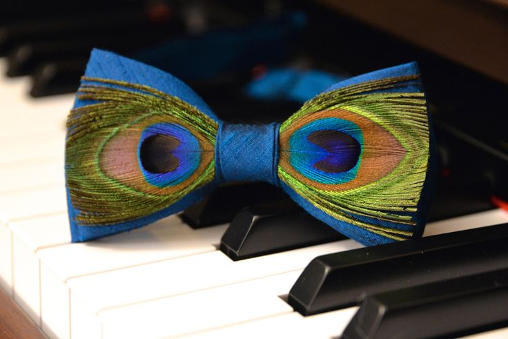 A personal favorite from my Etsy shop https://www.etsy.com/listing/540923237/mens-teal-bow-tie-genuine-feathered-blue