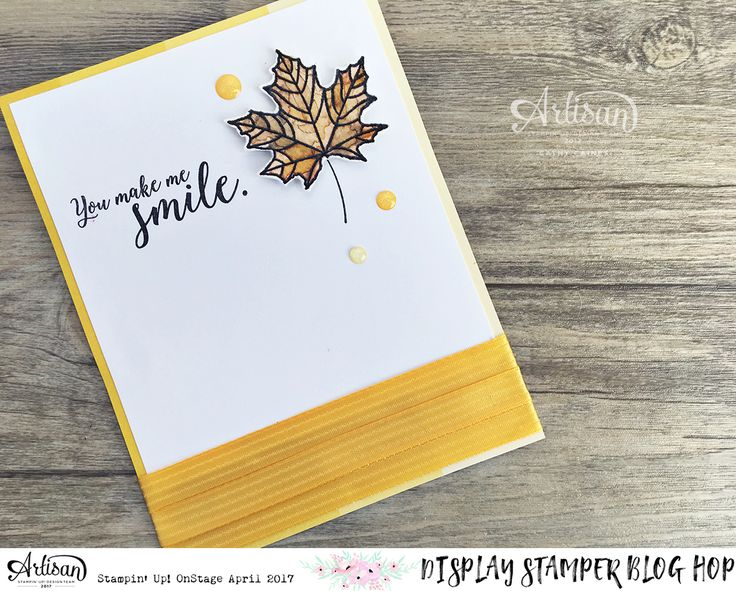In The Cat Cave: You Make Me Smile | Display Stamping Blog Hop Day Three