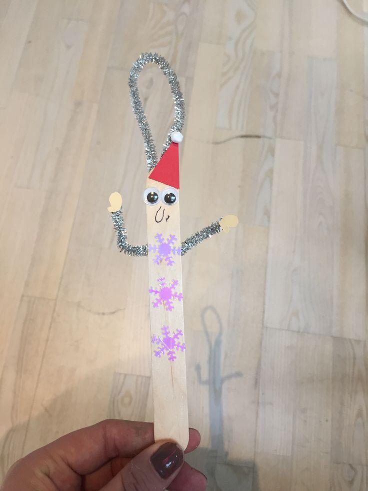 Juletræspynt - ispind