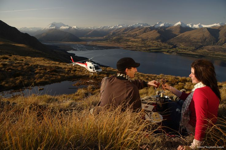 A helicopter picnic is a deliciously indulgent way to appreciate the scenery of New Zealand's Southern Alps. You'll be dropped off at the picnic site of your choice, then collected later at an agreed time. And you can trust the helicopter company to pack an amazing picnic, featuring local artisan foods and wine.