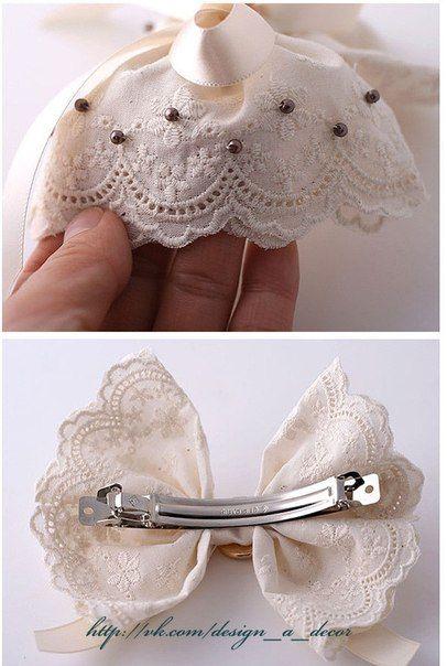Design & Decor: Заколки, бантики, ободки, резинки для волос своими руками. 42 мастер-класса!