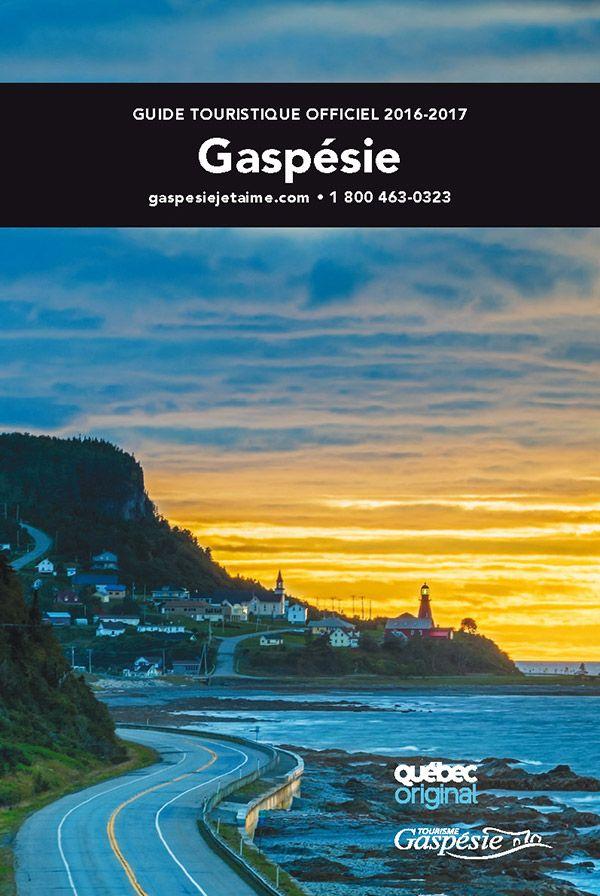 Guide touristique officiel de la Gaspésie