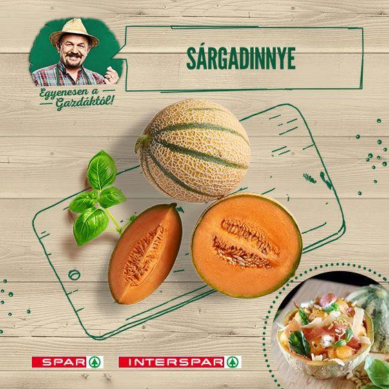 A sárgadinnyegerezdek mosolyra emlékeztetnek és mosolyra fakasztanak :)  Nem csak magában finom: http://www.spar.hu/hu_HU/spar_chef/receptek/salata/sargadinnye_salata_gorgonzolaval.html