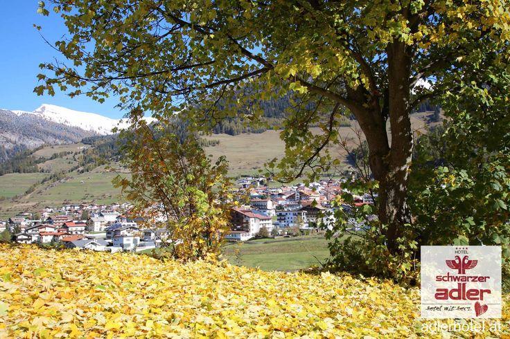 Herbstliche Landschaft in Nauders am Reschenpass