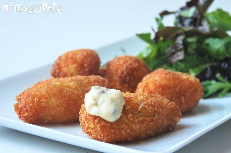 Croquetas de coliflor y queso de cominos | L'Exquisit