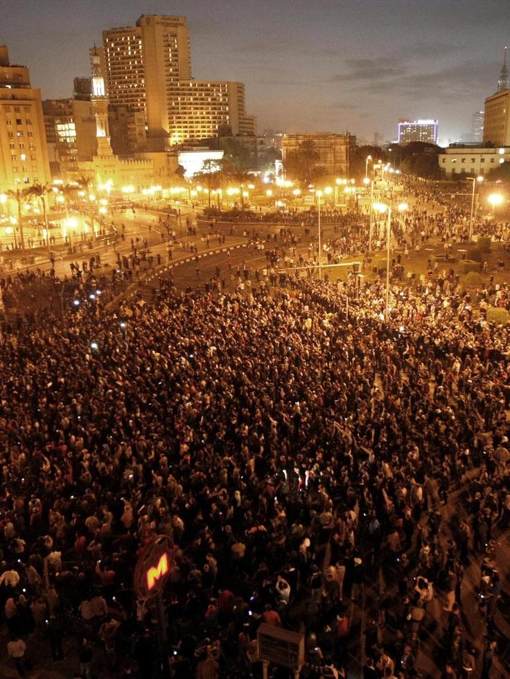 The Revolution in Tahrir Square