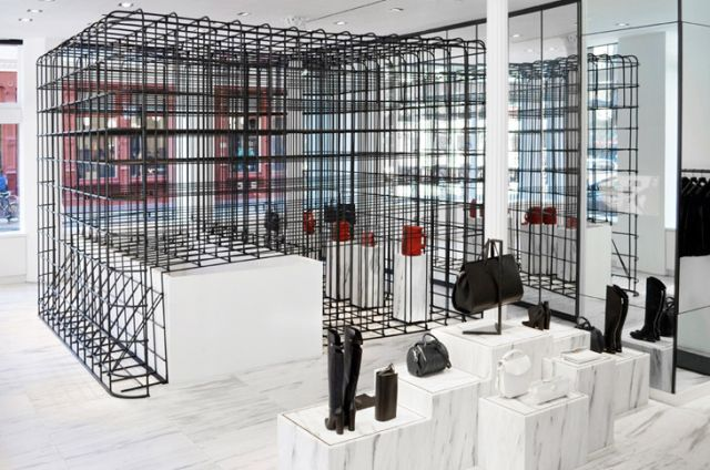 Alexander wang flagship store in soho new york york for Balenciaga store in soho
