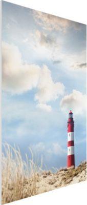 Forex Fine Art Print - Wandbild Leuchtturm in den Dünen - Hoch 3:2 Jetzt bestellen unter: https://moebel.ladendirekt.de/dekoration/bilder-und-rahmen/bilder/?uid=5967bd8f-b1e1-547f-a4e9-7eff6edd96d1&utm_source=pinterest&utm_medium=pin&utm_campaign=boards #heim #bilder #rahmen #dekoration