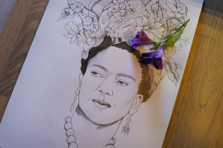Frida Kahlo - In Progress