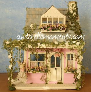 Caroline's latest creation at Cinderella Moments. Don't you just want to live there?
