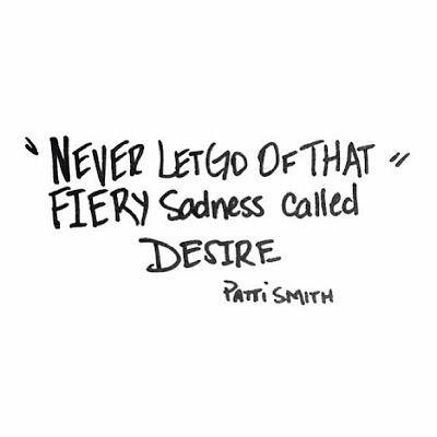 Patti Smith Quote
