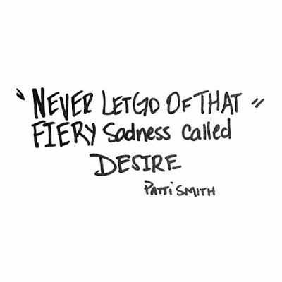 That fiery sadness...
