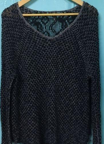 14.95$  Watch here - http://vibfy.justgood.pw/vig/item.php?t=ylcqtc414863 - FREE PEOPLE Women's Sweater Size Medium Crochet Organic Cotton #212
