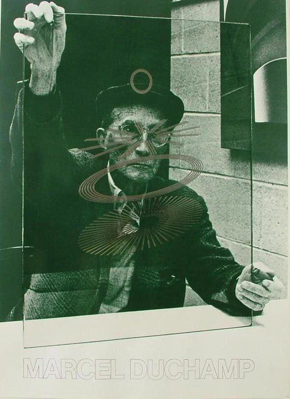 Marcel Duchamp big glass