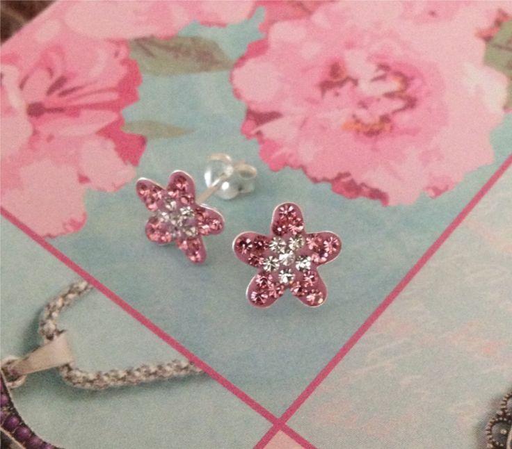 Rose Flower Earrings, £7.99