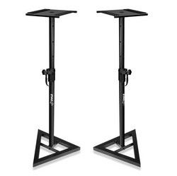 Heavy Duty Telescoping Height Adjustment Monitor Speaker Stands