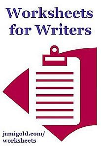 Worksheets for Writers - Beat sheets, scene checklists, spreadsheets and more.