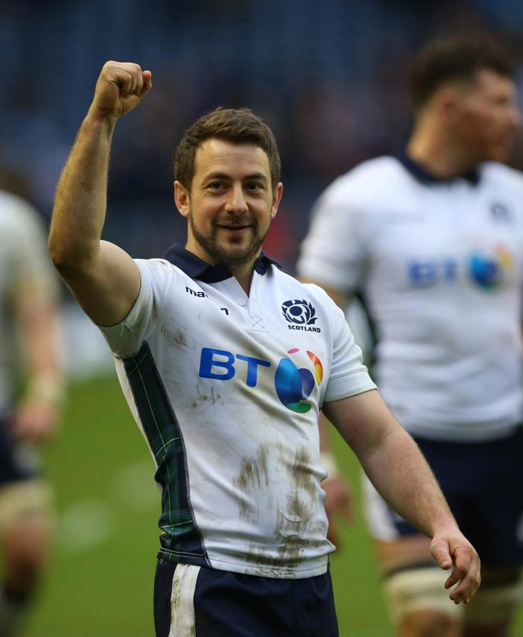 Scotland's courageous kicker  Greig Laidlaw