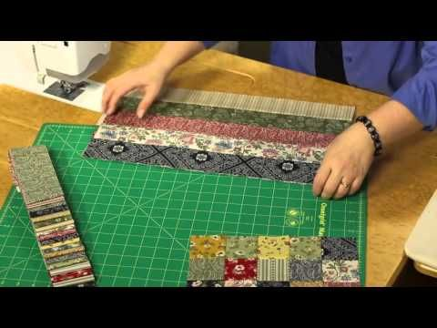 Quilting Quickly: Glad All Over -- Traditional Quilt Blocks meet Modern Fabrics - YouTube
