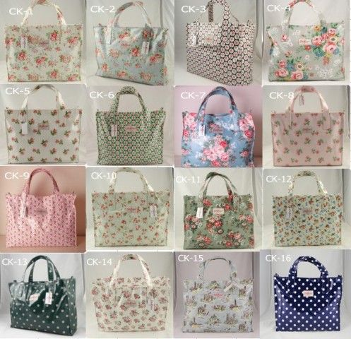 cath kidston bags - have 1 in polka dots and another in flower prints; bought in York, UK